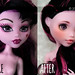 Draculaura [before-after] by ***Andreja***