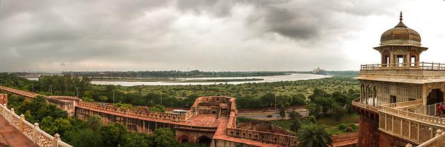 Panoramic photo of India