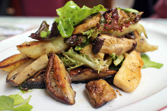 Warm Salad of Wild Mushrooms