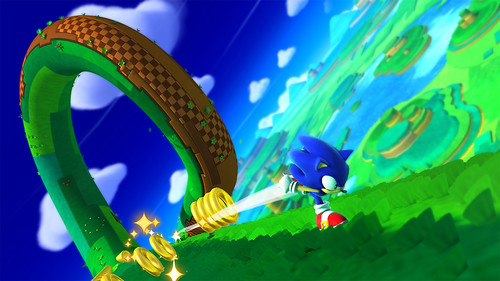 Sonic Lost World Wii U - Announcement Screens