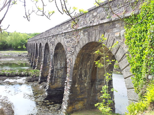 Viaduct in Ballydehob, Cork, Ireland. by despod