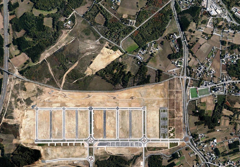 después, urbanismo, foto aérea,desastre, urbanístico, planeamiento, urbano, construcción, Muxa, Lugo