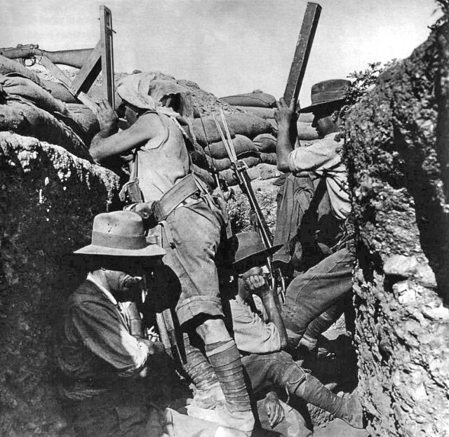 A First World War Trench