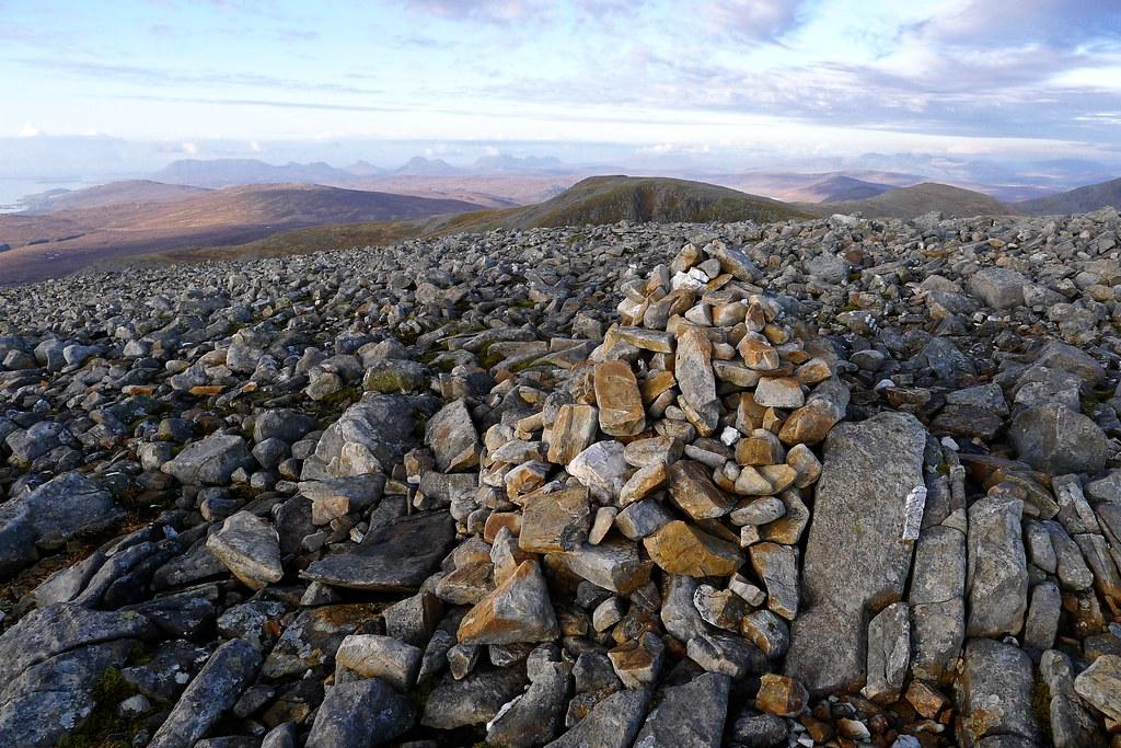 Summit of Meall nan Ceapraichean
