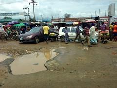 Street scene in Ilogbo, Lagos, Nigeria. #JujuFilms
