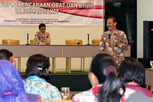 Workshop Perencanaan Obat dan BMHP
