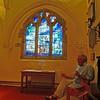 Redditch, Ipsley, St Peter.  Tom Denny Window.