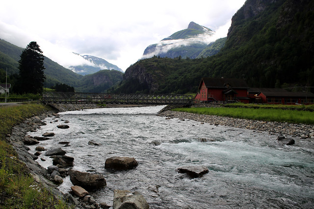 The Flåm Valley and Flåm School