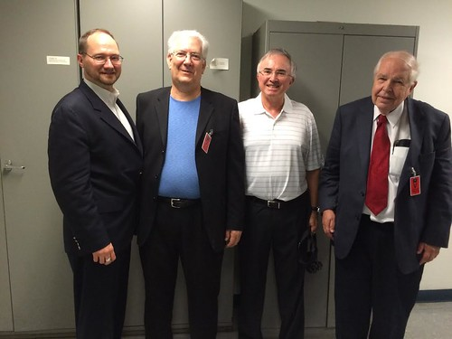 Dennis Tucker, John Dannreuther, David Sundman, Dave Bowers at U.S. Mint July 2016