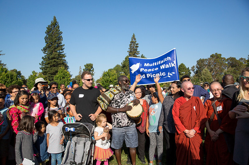 Palo Alto,CA Multifaith Peacewalk  - CNV 2016 (6)