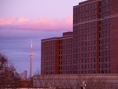 CN Tower Sunset