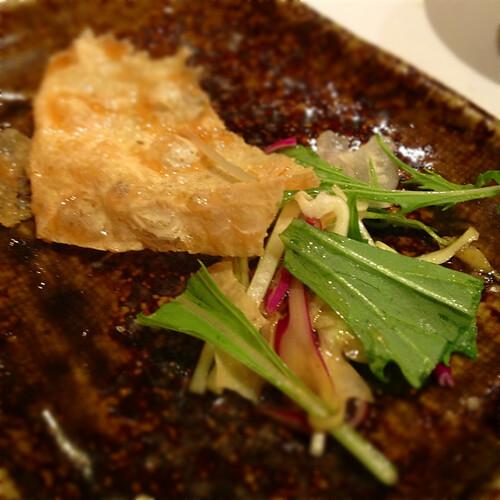 パリパリ湯葉サラダ