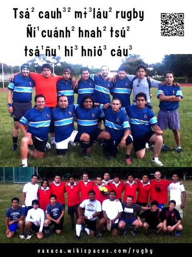 Rugby en Chinanteco