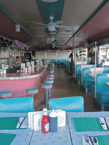 Kelly's Diner Somerville MA - Interior