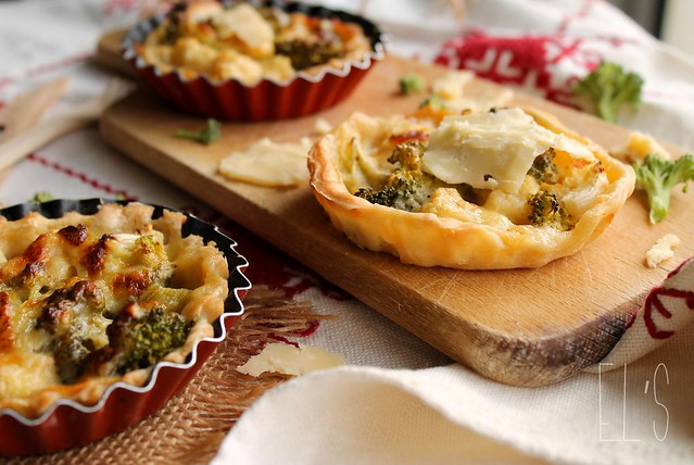 Tartelettes au brocolis