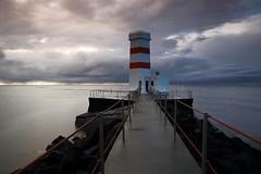 Lighthouse at Garður, Reykjanes Peninsula, Iceland