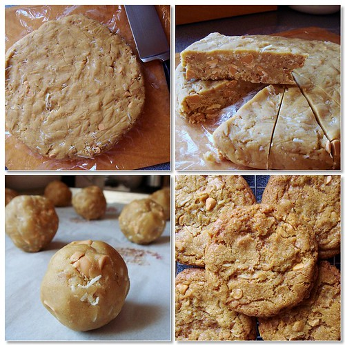 Butterscotch Coconut Cookies