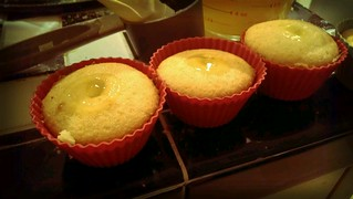 Lubricated lemon cupcakes