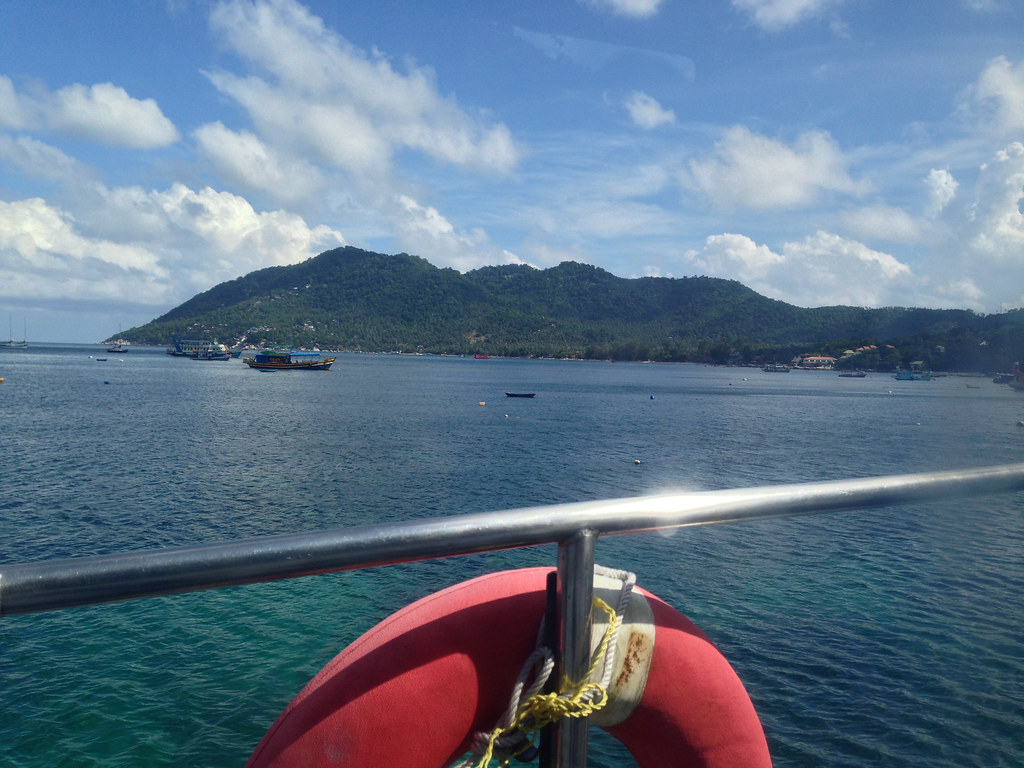 The Approach to Koh Tao