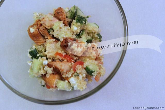 Chicken Quinoa Tabbouleh