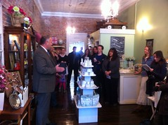 Launch of new Chickadelic Salvage & Design in downtown Stirling