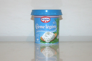 04 - Zutat Creme legere Kräuter / Ingredient creme legere with herbs