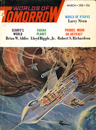 Worlds of Tomorrow SF Pulp Covers