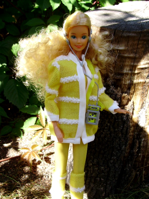 Music Loving Barbie 1985