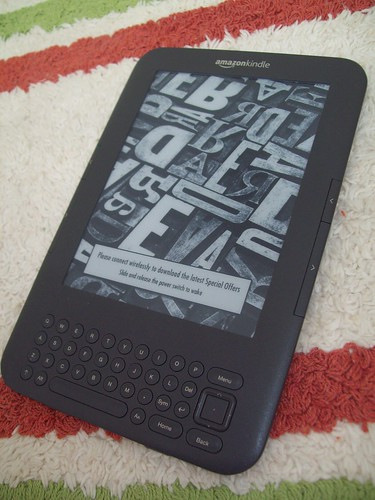 kindle for reading while traveling