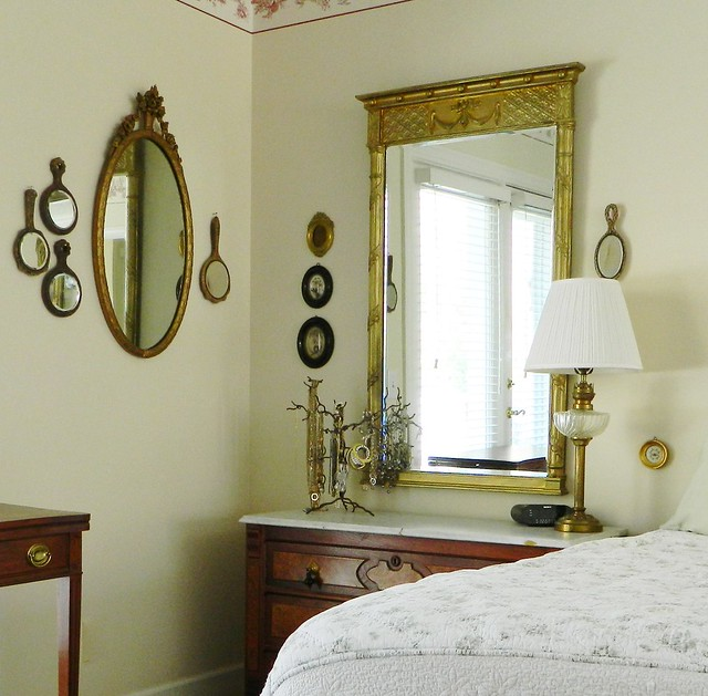 antique hand mirrors