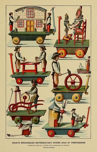 016-Juguetes mecanico representado diversos juegos y profesiones-Ecpoca Imperio-Histoire des jouets….1902- Henry René d' Allemagne