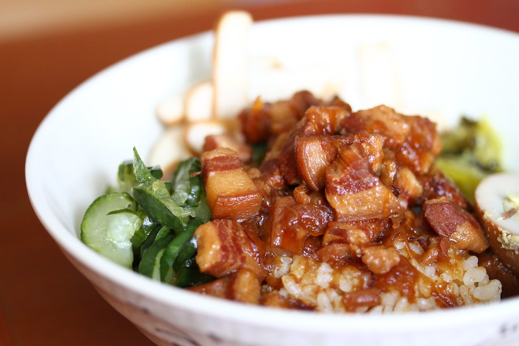 Lee's Taiwanese: Braised Pork Rice