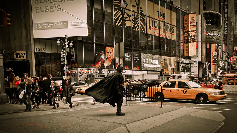 Life of Batman|NY Times quare