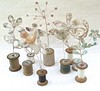 Cotton Reel Flowers