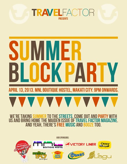 Travel Factor's Summer Block Party