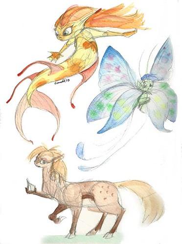 4.4.13 - Some Fantasy Creatures