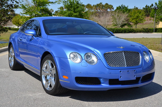 Bentley Blue