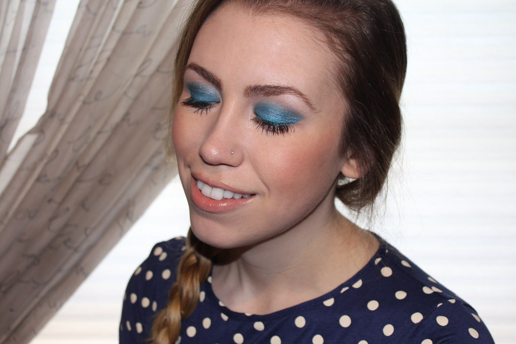 Living After Midnite: mark. Makeup Monday: Wild Blue
