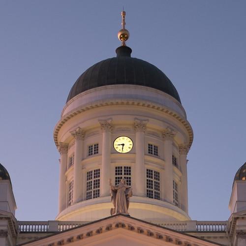 Helsinki Cathedral - X100S 100% Crop