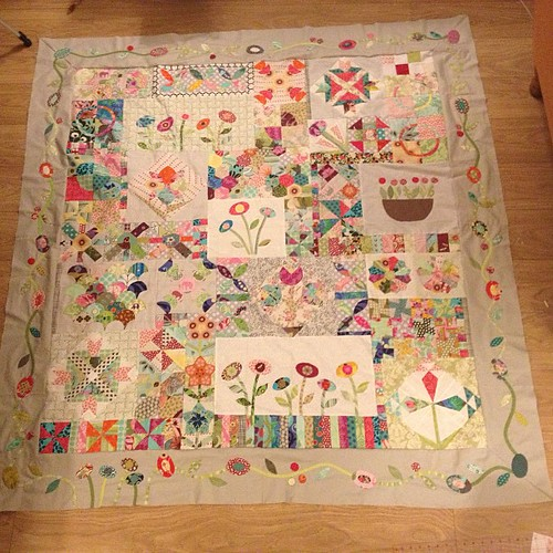 #greenteaandsweetbeans top finished!!!!!! Bit hard to photo, will take another tomorrow outside x