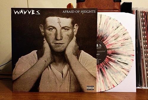 Wavves - Afraid Of Heights LP - White w/ Splatter Vinyl (/500) by Tim PopKid