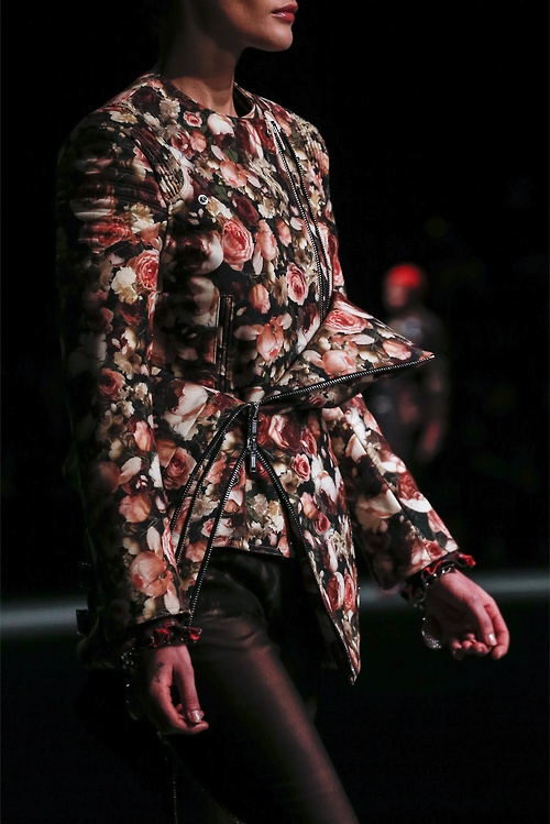 Print Inspiration Mood Board - Roses & Bandanas - Givenchy Womens FW 2013 Roses Jacket