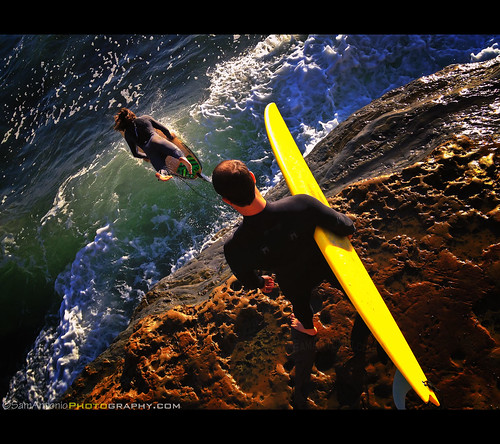 Surf's up in San Diego and the Pacific Ocean is calling your name! by Sam Antonio Photography