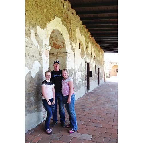 Mission walls #sanjuancapistrano