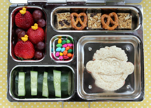 PlanetBox school lunch - Sesame Street Ernie & rubber ducky