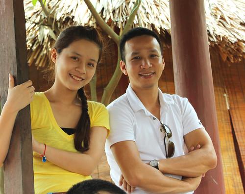Vân Anh và Hoàng Phú