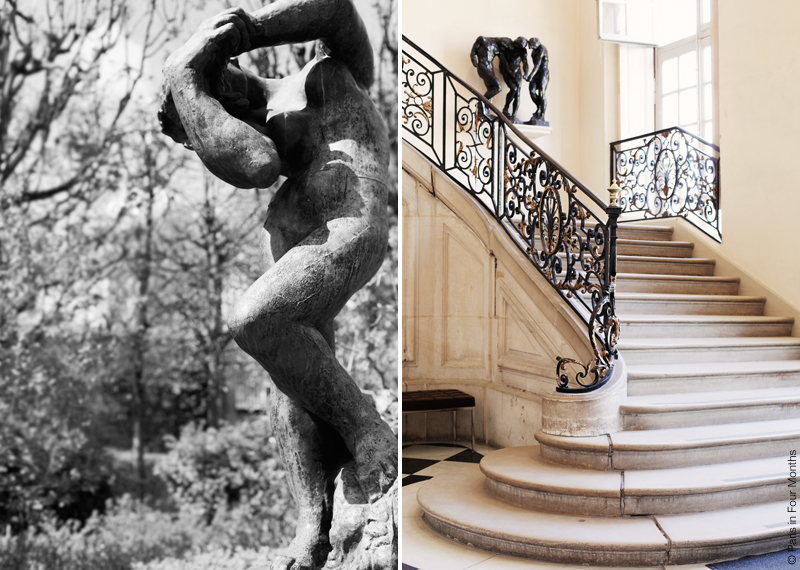 Inside Musée Rodin in Paris