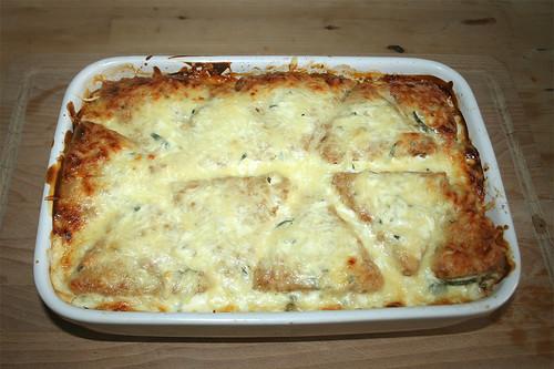 24 - Gyros-Rösti-Auflauf mit Feta - Fertig gebacken / Gyros rösti casserole with feta - finished baking