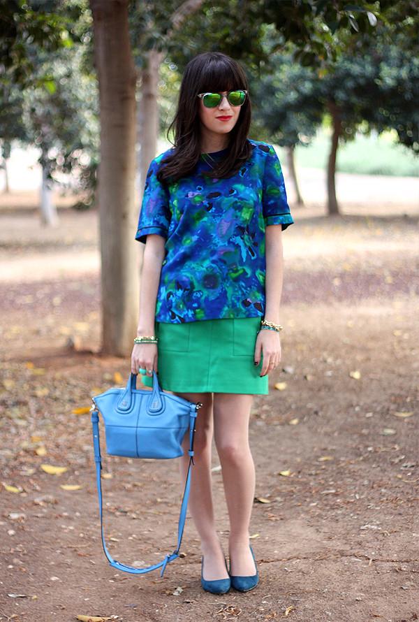 whistles blouse, givenchy bag, nine west suede pumps, zara skirt, בלוג אופנה, ניין ווסט, אסוס, קניות ברשת, תיקי מעצבים