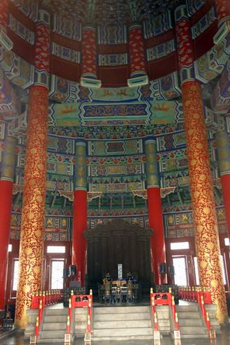 Interior del Sagrado Templo de las Oraciones Templo del Cielo de Pekín, perfección entre tierra y cosmos - 8666038328 b0a2d52987 - Templo del Cielo de Pekín, perfección entre tierra y cosmos